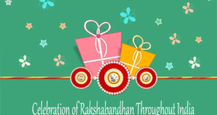 Celebration of rakshabandhan throughout India