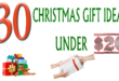 Christmas Gift ideas Under $20
