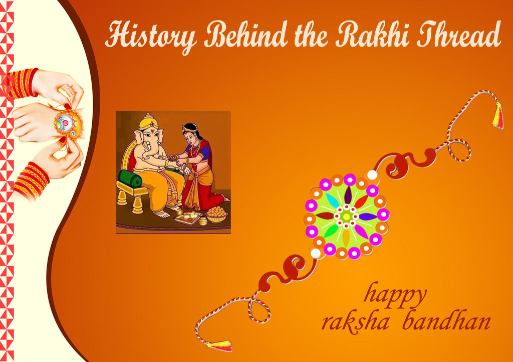 History behind the rakhi thread-1
