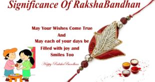 Significance of Rakshabandhan