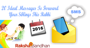20 Ideal Messages To Forward Your Siblings This Rakhi
