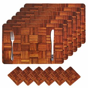Dining table coaster set