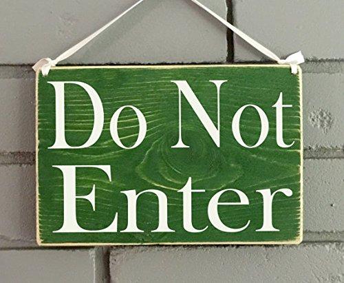Do not enter board