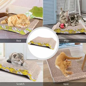 Scratching bed for cats-Gifts For Animal Lovers