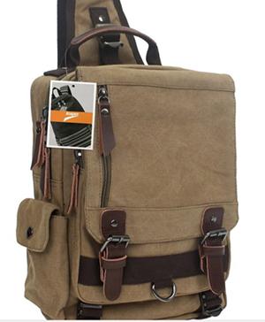 shoulder bag or backpack
