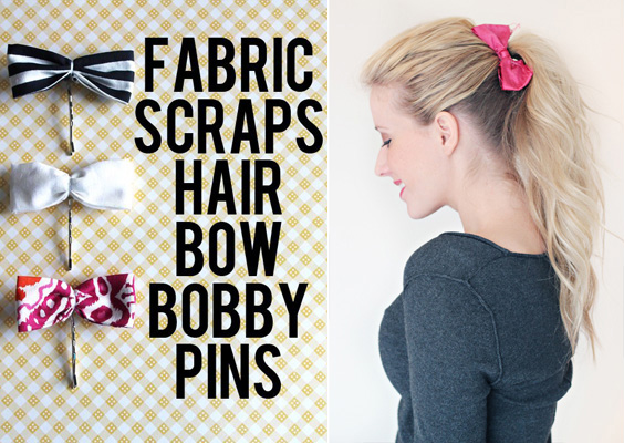 Bow bobby pins