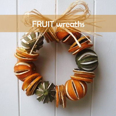 Fruit wreaths