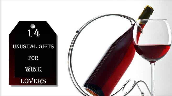 gift ideas for wine lovers  sc 1 st  Unusual Gifts & 14 Unusual Gifts for Wine Lovers - Unusual Gifts