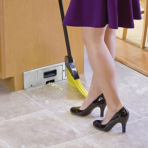 Built-in kitchen vacuum cleaner
