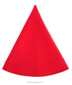 Christmas cone hat