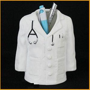 Doctor Coat Shape Pen, Pencil Holder Stand