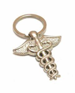 Doctor Symbol Keyring