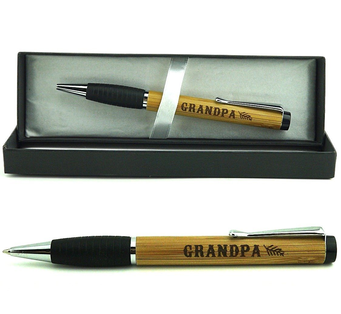 Grandpa' engraved gift pen