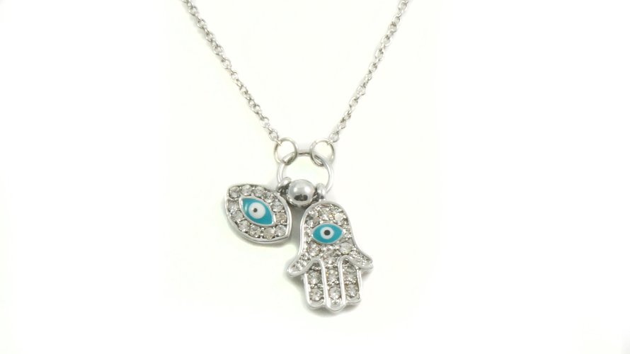 Hamsa and evil eye gift