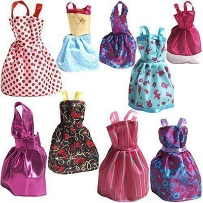 Handmade dresses for bobby doll
