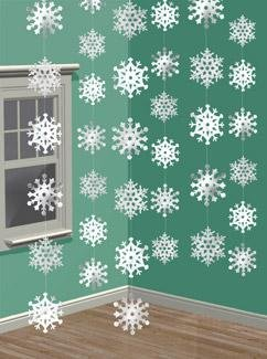 hanging-snowflakes