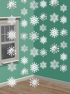 hanging-snowflakes