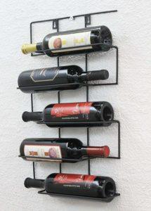 Metal Wall Wine Holders
