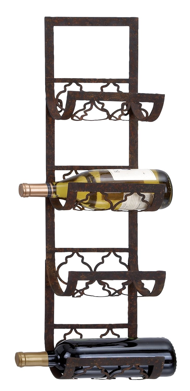 Metal Wall Wine Holders