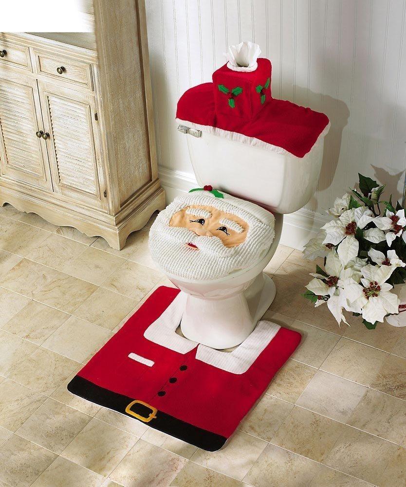 santa-toilet-seat-cover-and-rug-set