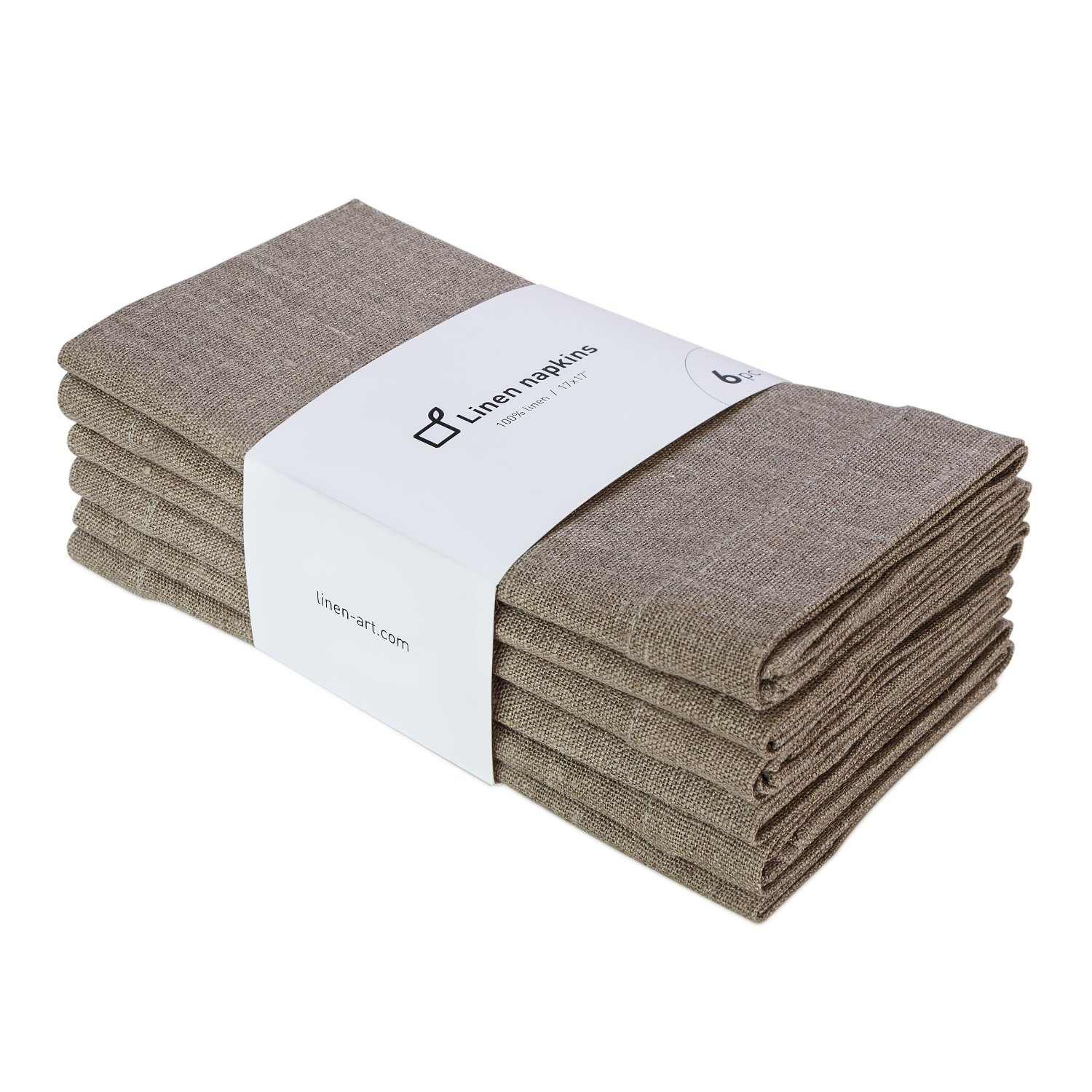 Set of linen napkins