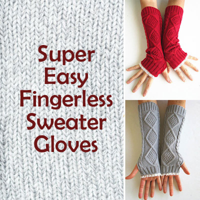 Sweater gloves