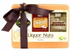 Beer and whisky flavoured Gourmet Nuts