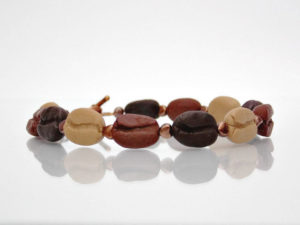 beaded-bracelet-with-handmade-coffee-bean-beads