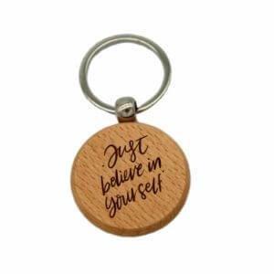 Believe in Yourself Keychain