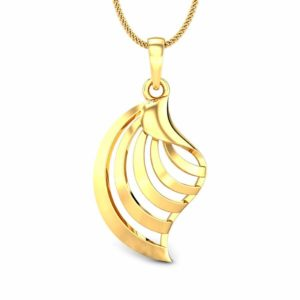 Charm Gold pendant