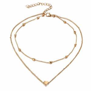 Charm necklace set