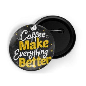 Coffee Lover Pin