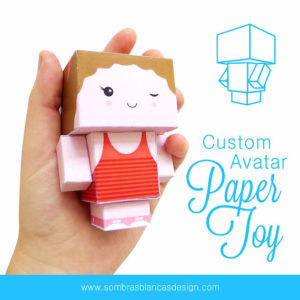 custom-avatar-paper-toy