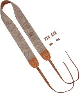 Custom leather camera strap