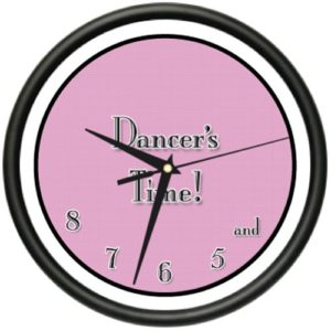 dancers-time-wall-clock
