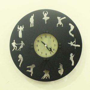 Dancer's Time wall clock
