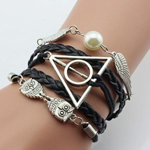 deathly-hallow-and-snitch-bracelet