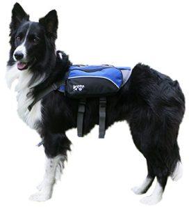 Dog Backpack Adjustable Saddlebag