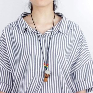 Drum necklace