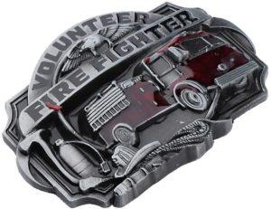Firefighter belt buckle