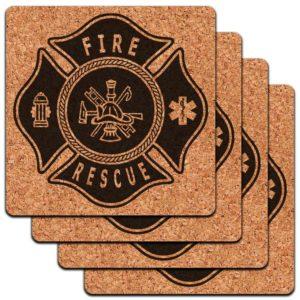 fireman-coaster-set