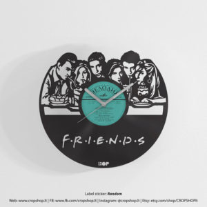 friends-wall-clock