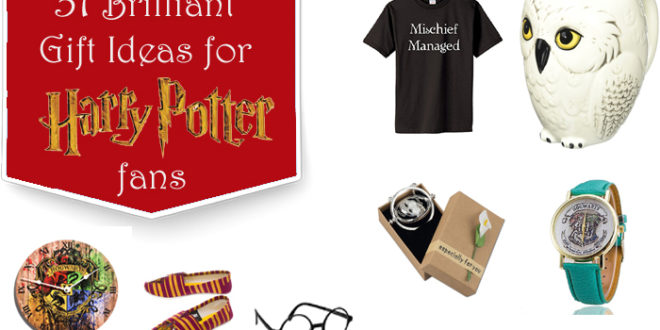 31 Brilliant Gift Ideas For Harry Potter Fans Unusual Gifts