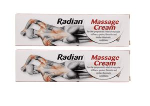 Hot cream for pain relief