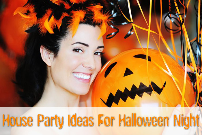 House party ideas for Halloween