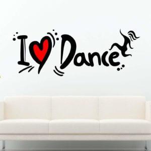 Dance teenager room sign