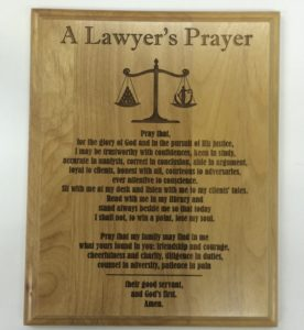 lawyers-prayer-plaque