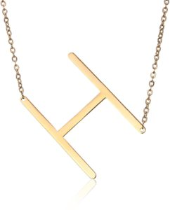 Necklace with their initials