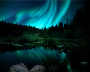 northern-lights-painting