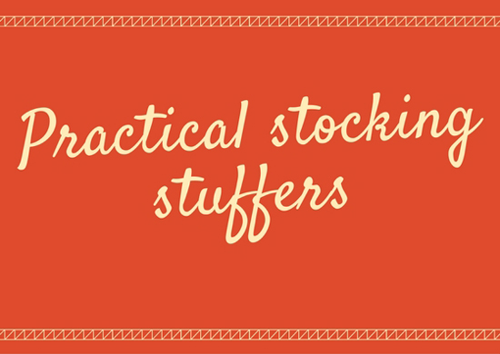 practical stocking stuffers